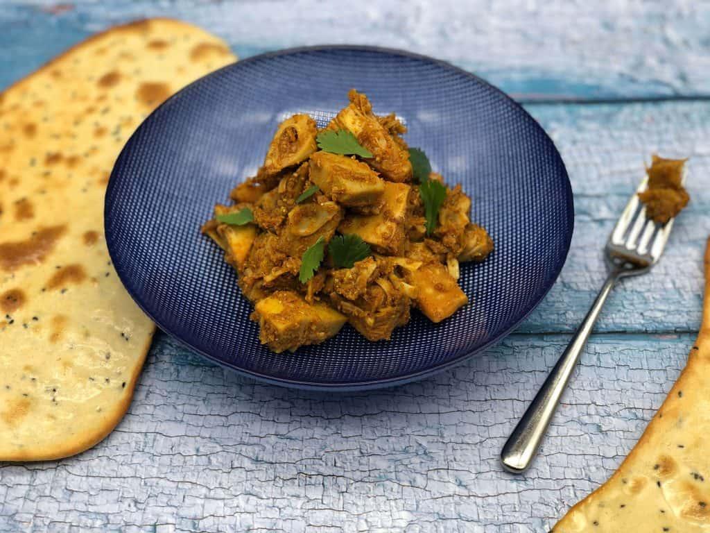 Homemade jackfruit curry
