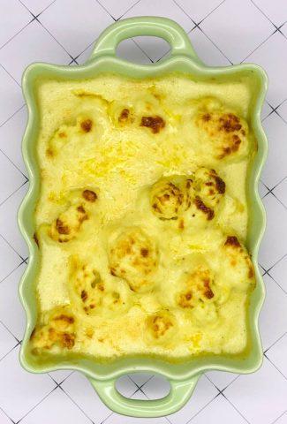 Tasty easy to make cauliflower cheese