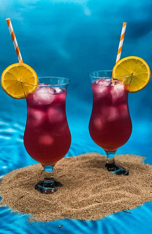 Delicious summer Sex on the Beach cocktails