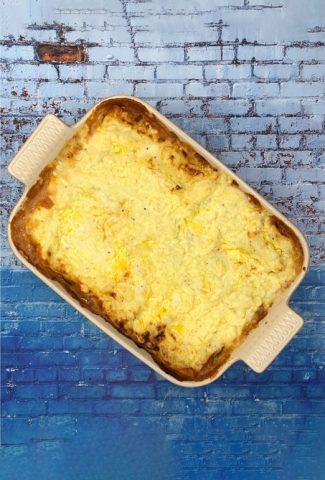 Amazingly tasty vegetarian lasagna