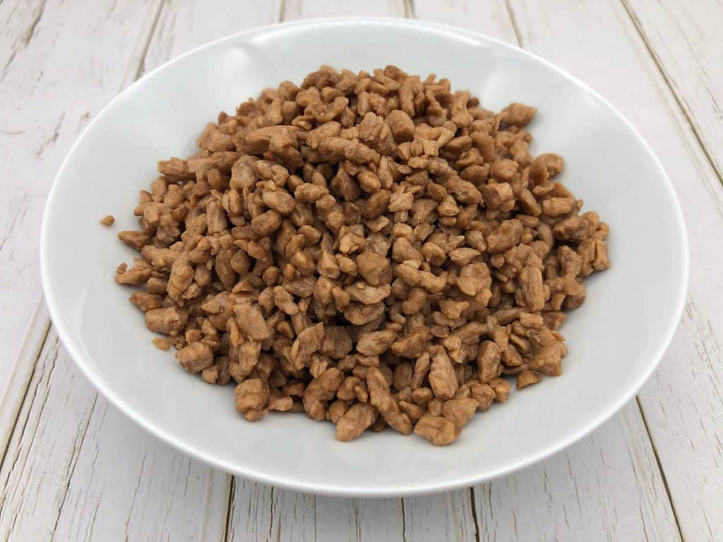 A bowl of veggie mince