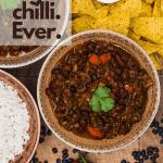 Vegan chilli pin for pinterest