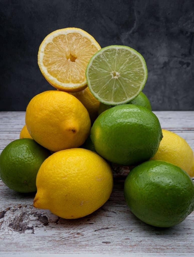 Fresh citrus fruit for mojitos