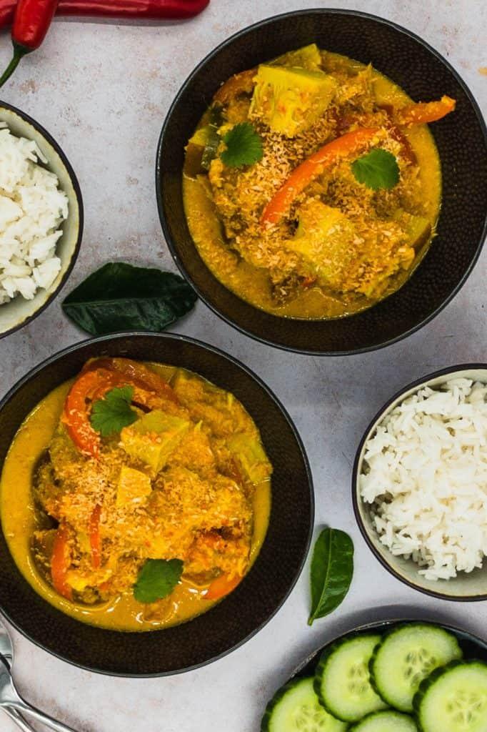 Fresh home cooked Indonesian vegan
