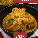 Jackfruit curry for pinterest
