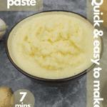 Ginger garlic paste pinterest
