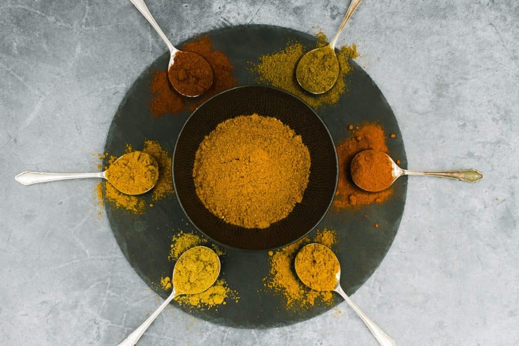 Amazing blend of curry spices
