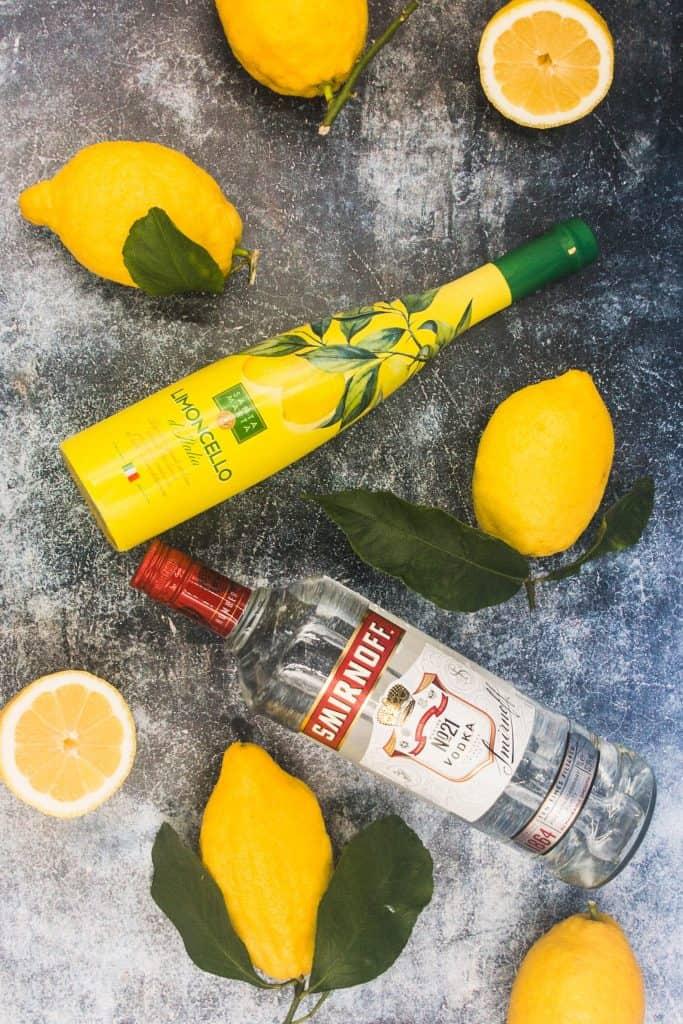 Italian limoncello, fresh lemons and vodka