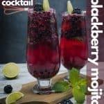 Blackberry mojito recipe for pinterest