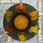 Indian curry spices for pinterest