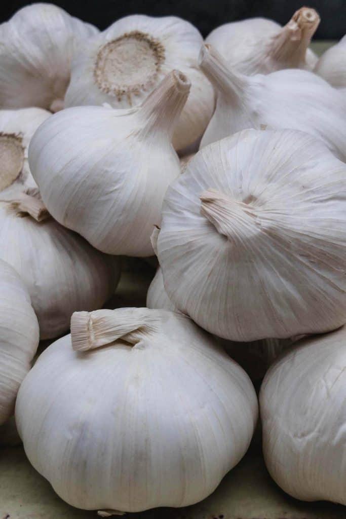 Lots of Cloves garlic