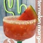 Watermelon margarita image for pinterest
