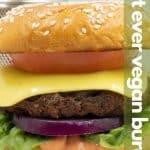 The Best Vegan Burger Recipe Ever for Pinterest