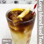 Long Island Iced Tea image for Pinterest.